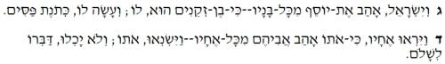 Genesis 37 jacob loved joseph 1