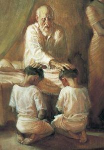 blessing-ephraim and Menasha